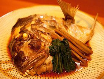 特大天然真鯛のかぶと煮