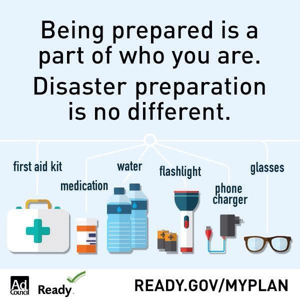 Are you prepared for emergencies? September is National Preparedness Month.