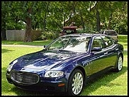2005 Maserati Quattroporte  Not sold; Hugh bid of $18,000