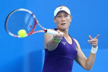 WTA Bad Gastein - Samantha Stosur moves to the next round!