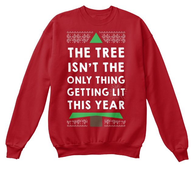 Super limited print of Merry Litmas sweatshirts are selling out fast! The tree isn't the only thing getting lit this year. Sale Ends Soon! Only 100 made so get yours NOW. Order 2 or more and save on shipping! These are the perfect gift. Matching Christmas sweaters, anyone?1. Choose your style and color.2. Click Buy It Now to reserve your size!Paypal | VISA | Mastercard | AmexSafe & Secure Checkout - Satisfaction Guaranteed
