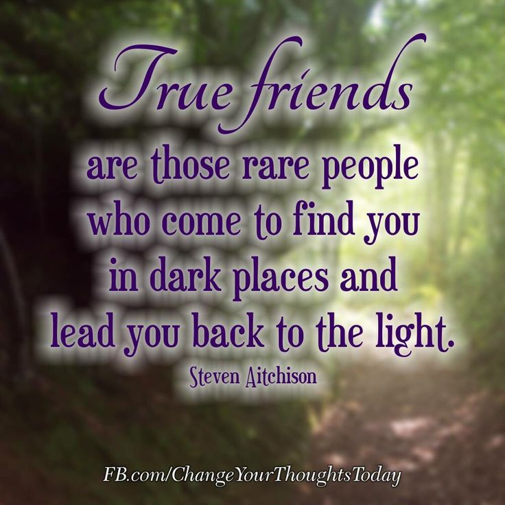 Friends....some Are Closer Than