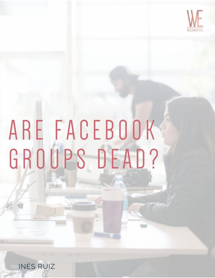 A white-hot new trend has been sweeping Facebook-land over the past month and it's time that someone offers a fresh perspective: Lots of group owners are shutting down their Facebook groups.