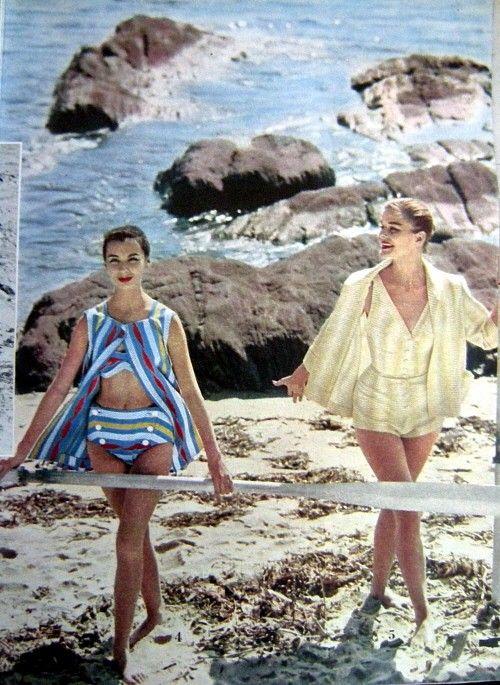 Beach Fashion June 4, 1956 | Vintage Fashion
