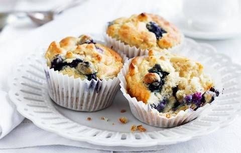 Blueberry and pear muffins: You won't be missing out with these moorish gluten free muffins