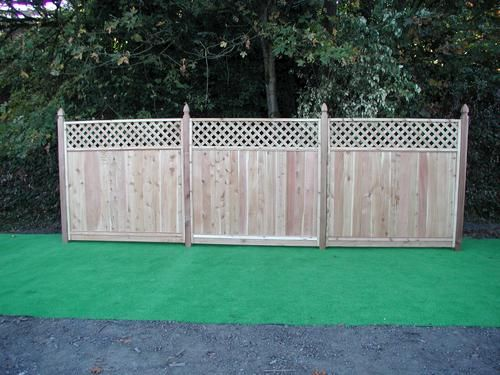 Diamond Lattice Fence Panels - WoodWorking Projects & Plans
