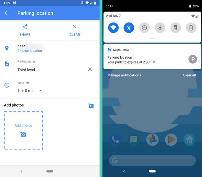 Google Maps Android Save Location | Google tools | Android