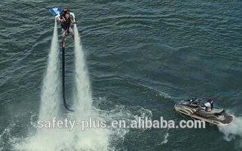 water proof 4 inch bright color flyboard hose/flexible lay flat hose/fire hose for flying water sport