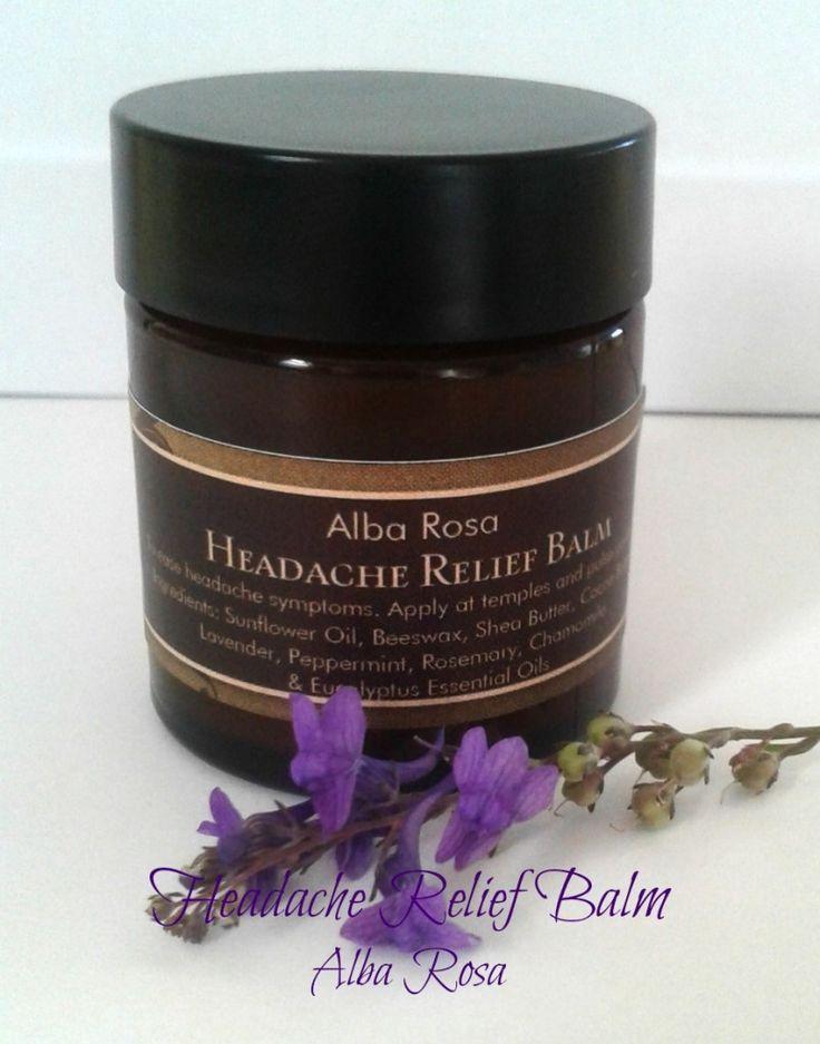 Alba Rosa Headache Relief Balm