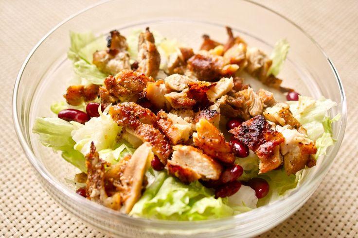 『グリルチキン・サラダ』ヴィネグレットで和えるだけの簡単サラダレシピ