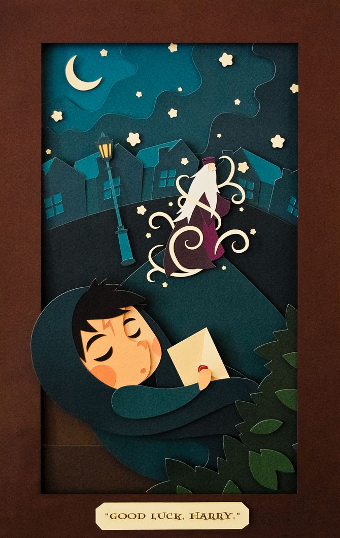 Andrea Nguyen: Paper cut illustrations I love everything about this girls style. She has such beautiful color harmonies and flowing organic shapes.