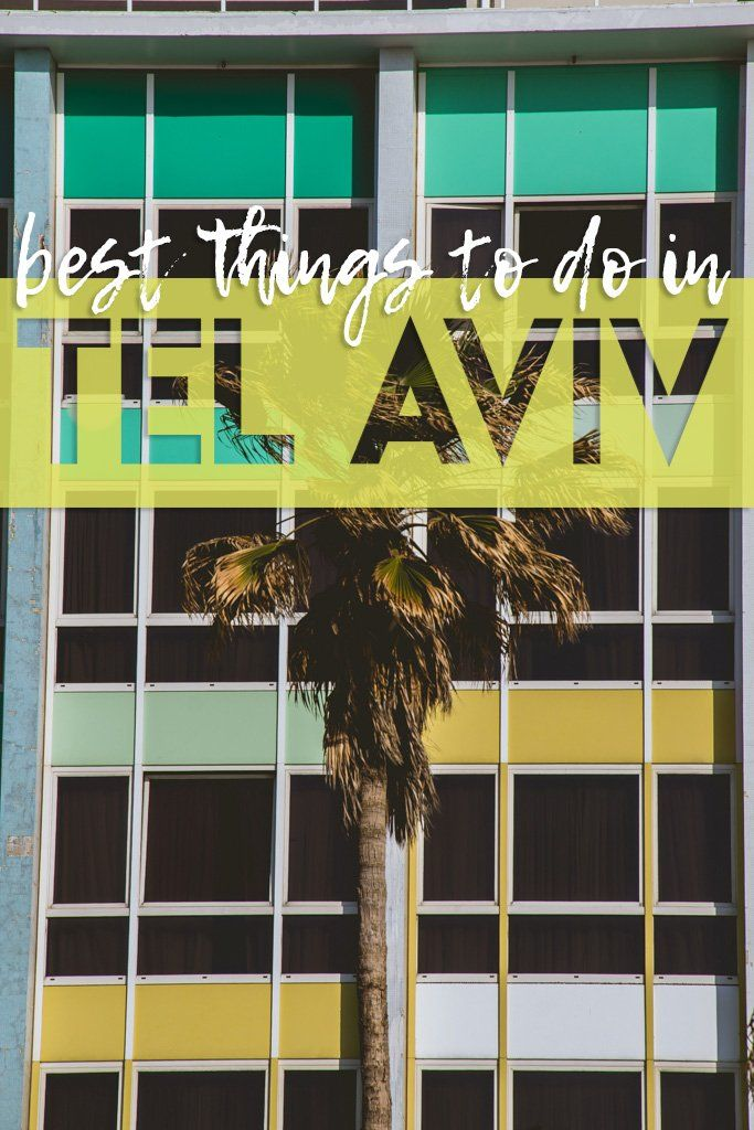 Did you know Israel's cool coastal city is a laid back party capital full of beaches and beautiful buildings? Check out the Best things to do in Tel Aviv