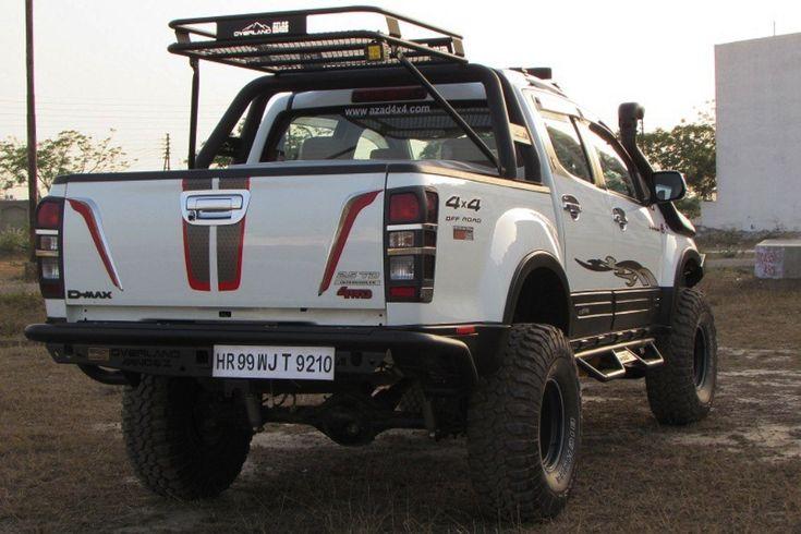 Isuzu D-Max V-Cross 4x4 modified monster truck by Azad4x4