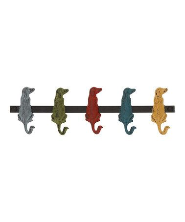Look what I found on #zulily! Dog Party Wall Hook #zulilyfinds