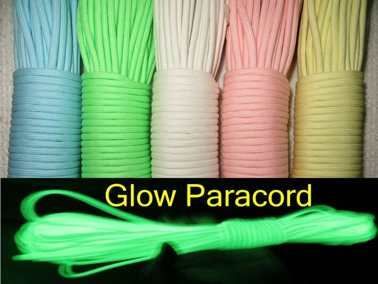 Aliexpress.com : Buy Glow In Dark  Paracord 9  Strands  5 colors available 100FT (31M) Survival Parachute Cord from Reliable glow in dark shoes suppliers on Panda  Paracord Supplies Wholesales & Retail $15.99