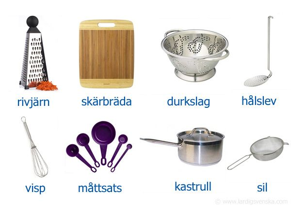 Kitchenware | Svenska