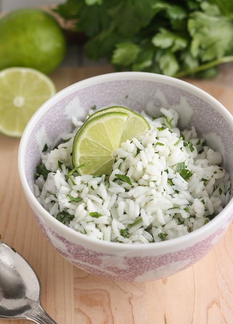 Cilantro-Lime Rice by Traceys Culinary Adventures