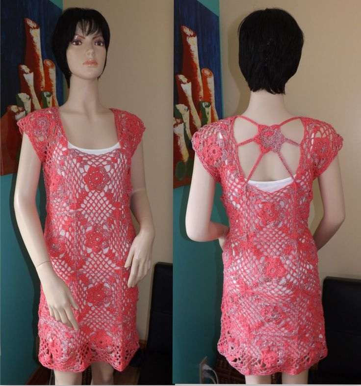 Crochet summer dresses tutorial by yolanda