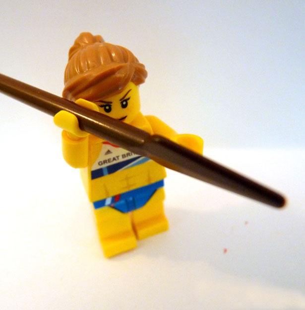 Jessica Ennis in lego form
