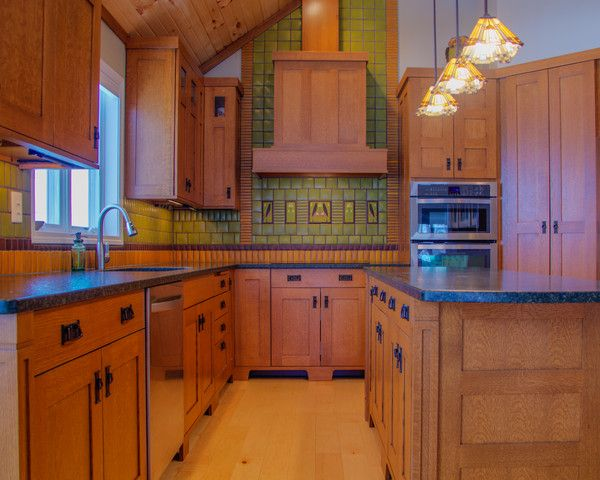 Read The Story Behind The Design Of This Beautiful Craftsman Kitchen.  Http://