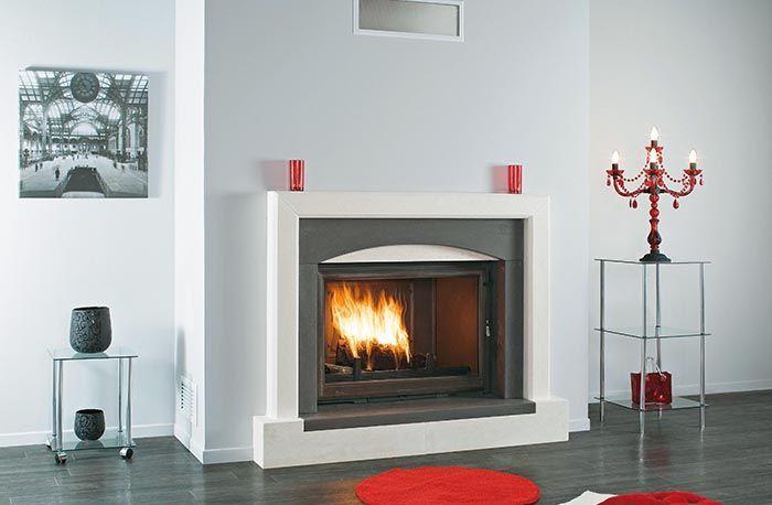 Seguin Super 9 Cast Iron Cheminee Fireplace
