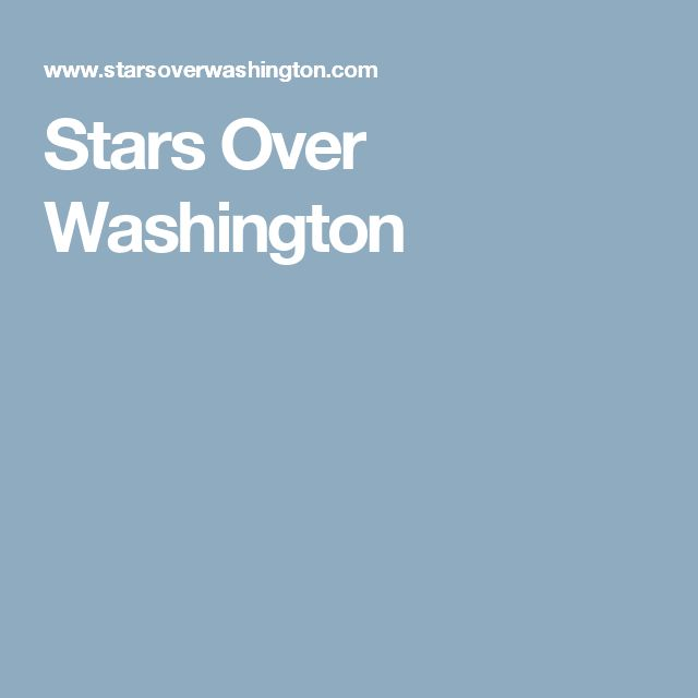 Stars Over Washington | Jude Cowell