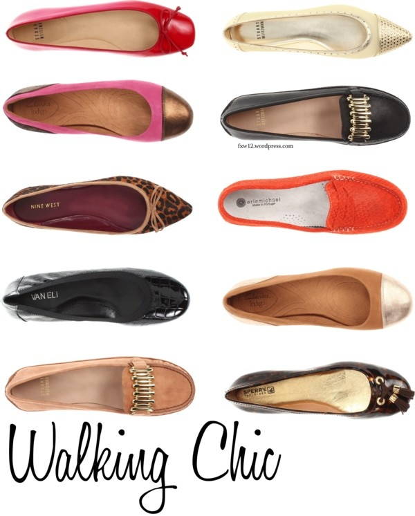 My NY Girls know the secret to long lasting style is a chic pair of flats ·  Walking ShoesSize 12The ...