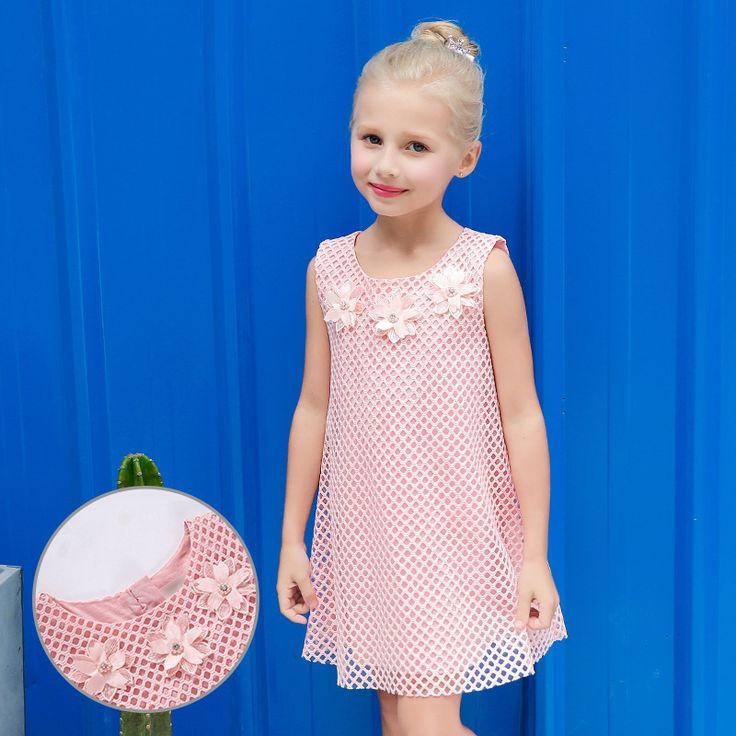 Новорожденных платье принцессы для девочек Платья для младенцев розового цвета для маленьких девочек шифон сетка одежда 2017 Лето для детей ... | 32823760870_nl