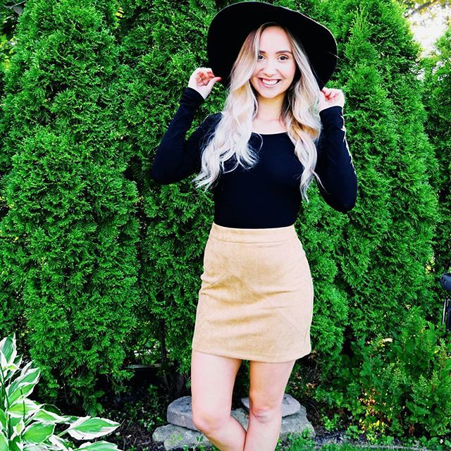 How cute is @megancammps in our Soft Touch skirt in cognac and our Madly In Love bodysuit  Available soon! ✨ Shop the summer sale on now via link in our bio!  #ilovepeachlea .  .  .  .  .  .  .  #ootd #fashion #style #fall #stylegram #fashiongram #fashioninspo #wiwt #girl #toronto #outfitoftheday #styleinspo #fall2017 #beautiful #love #fashioncanadians #love #blonde #babe #availablesoon