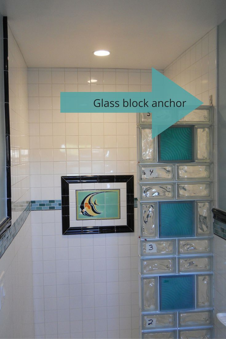 Best Glass Block Showers Images On Pinterest Bath Remodel - Glass block showers small bathrooms