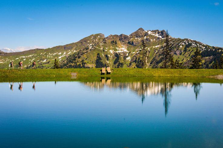 Spiegelsee in Dorfgastein