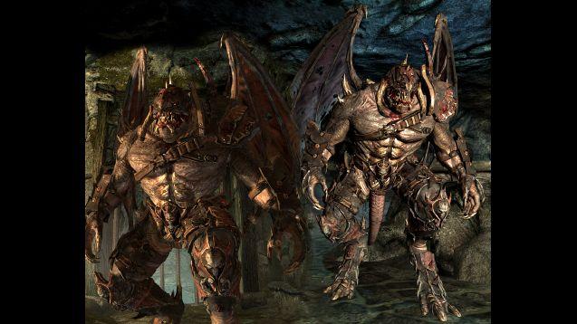 Demon werewolf skyrim - photo#4