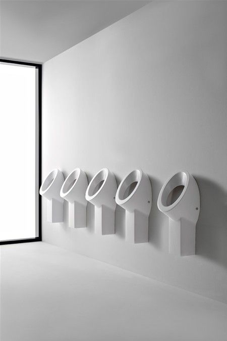 Wish> Wall-mounted urinal