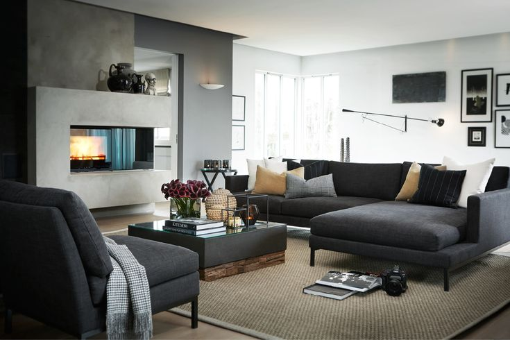 Slettvoll sofa (divan kan settes på andre side)