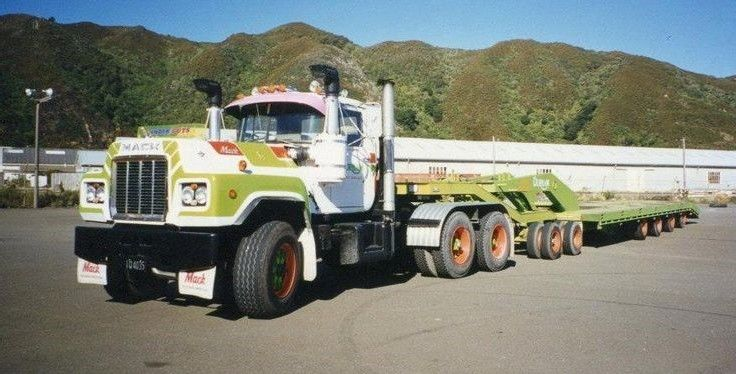 R700 Mack Mack Trucks Mack Trucks Trucks Road Train