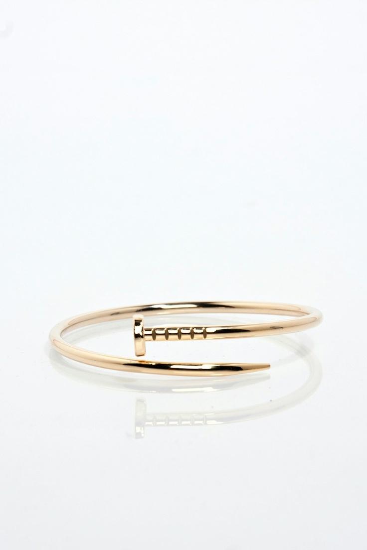 ShopSosie Style : Twisted Nail Bracelet
