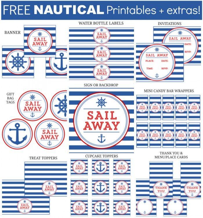 Nautical Printables
