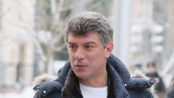 Boris Nemzow im Februar 2013 in Moskau