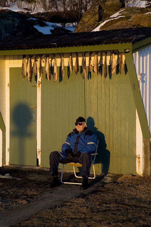 Let´s dry some cod - Stian Broch Photography