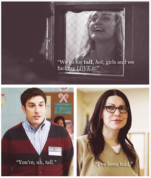 #oitnb  Larry, you twat.: Humor Orange Is The New Black, Orange Is The New Black Humor, Alexpiper, Observational Orange, Fans, Books Movie Tv, 32 Jokes, Tall Girls, Oitnb Larry