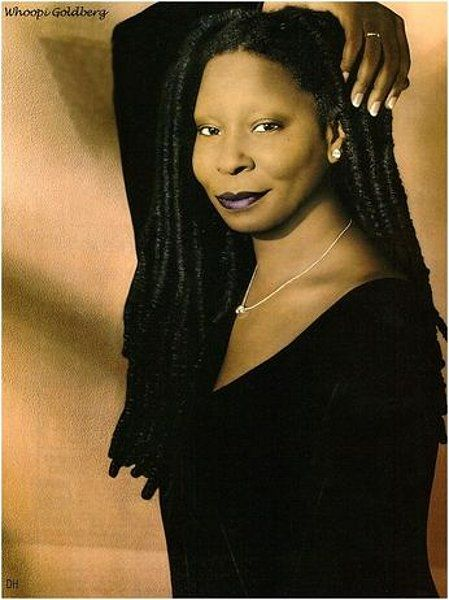 Never seen Whoopi look like this. ON THAT WOMAN CHILE....it's happens! W>NF
