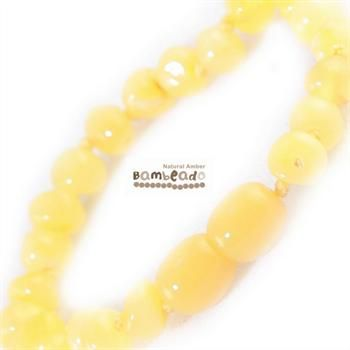 This may be an alternative if your baby is teething or has ezcema. This amber bracelet is a great alternative to slip on underneath clothing while your child is sleeping and can be purchased as a matching set with your amber necklace. Amber bracelets are designed to be worn and not chewed. Each amber bracelet has been carefully handcrafted with your babies safety in mind. Each amber bead is carefully rounded and polished to be comfortable against your childs skin.