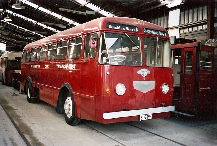 #Wellington City Transport Leyland Royal Tiger from 1953 with a New Zealand Motor Bodies