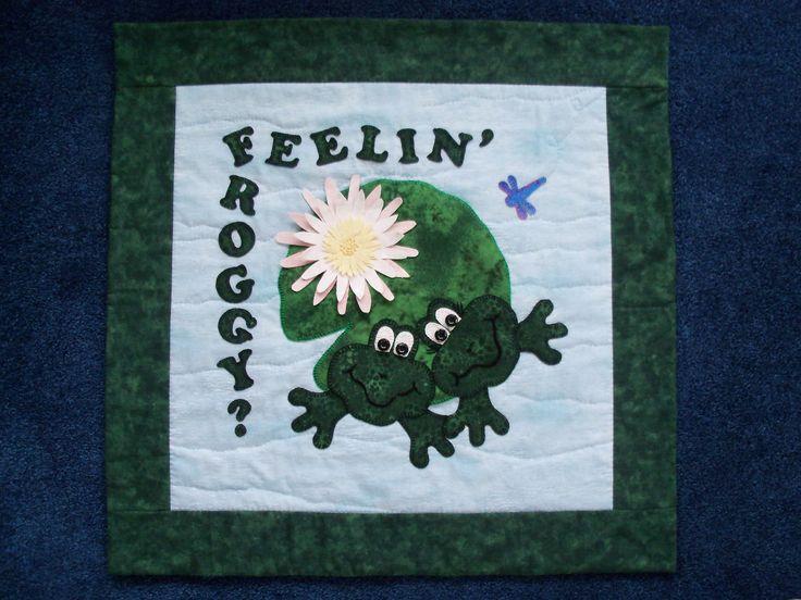 Feelin' Froggy? Pattern