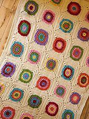 Ravelry: Baby Bullseye Blanket pattern by Tracy St. John