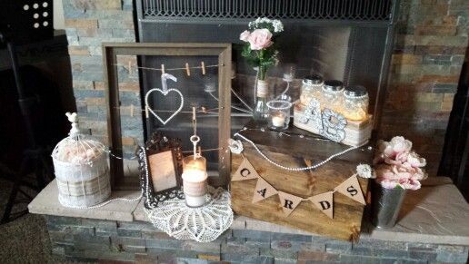 ... Rustic Elegance Wedding Pinterest Ideas, Tables and Gift table