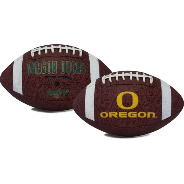 Rawlings Oregon Ducks Full-Sized Game Time Football, Team