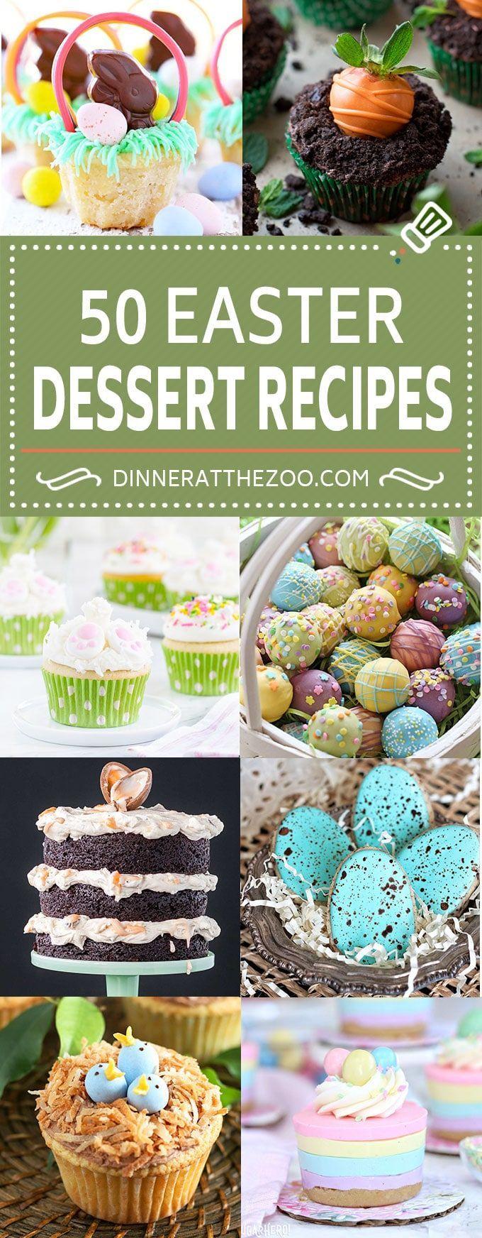 50 Easter Dessert Recipes
