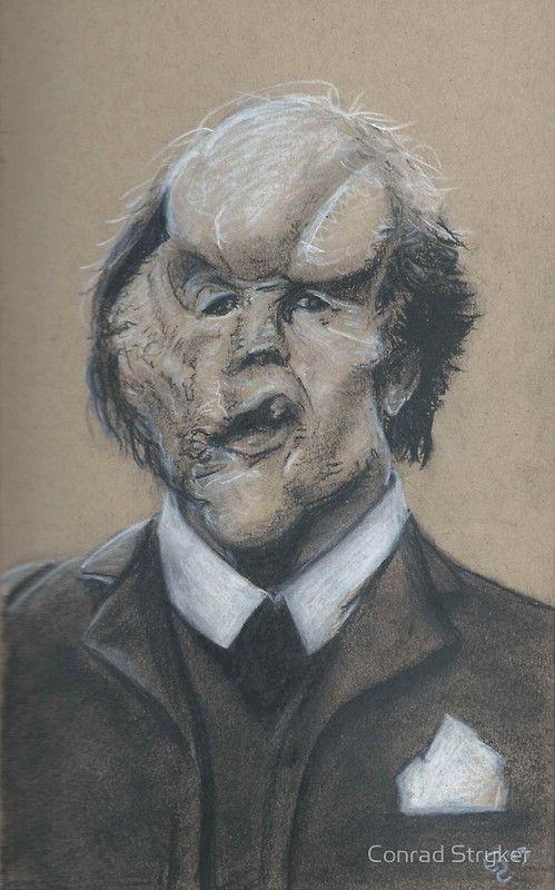John Hurt as Joseph Merrick (The Elephant Man) by Conrad Stryker