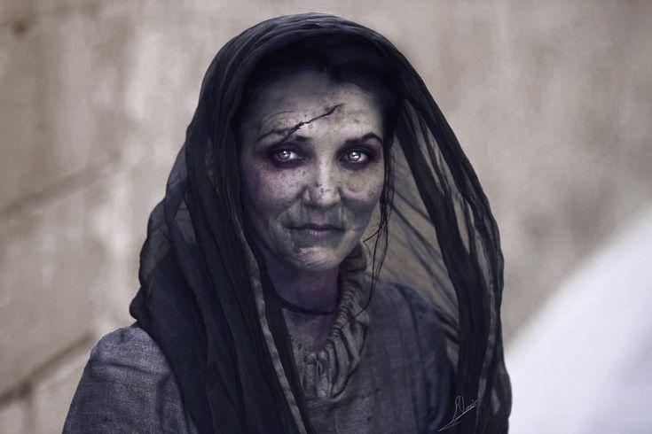 Lady Stoneheart por Vasilis Kun